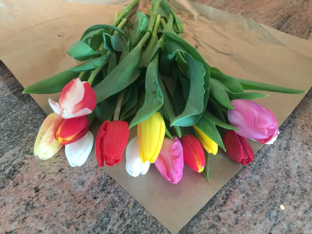Week Six: Fresh Pike Place Market Tulips