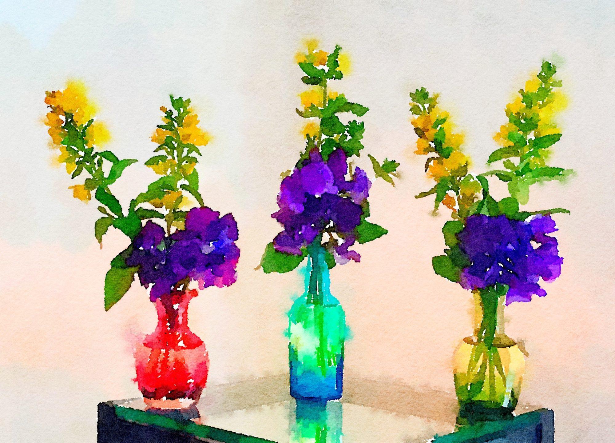 Week Nineteen: Three Small Bouquets