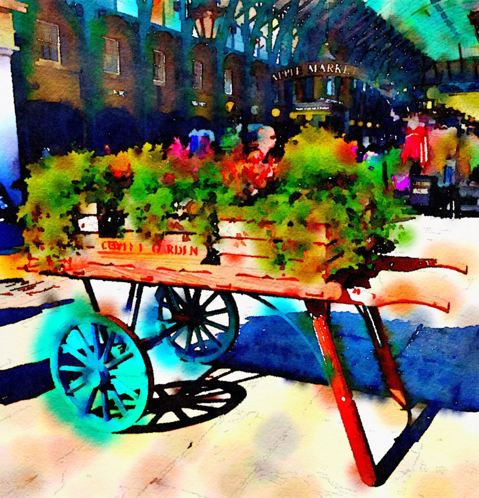Week Twenty-One: Covent Garden Flower Cart