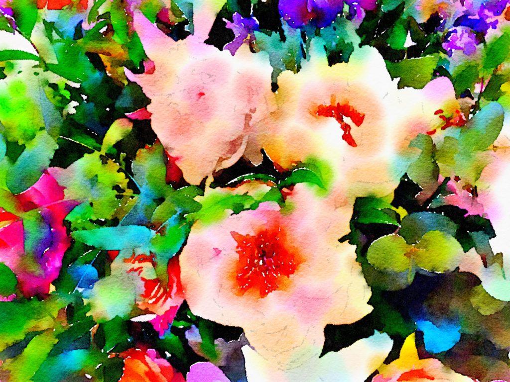 Week Twenty-One: Pretty in Peach Flowers at The Savoy