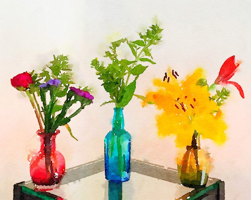 Week Twenty: Three Small Vases