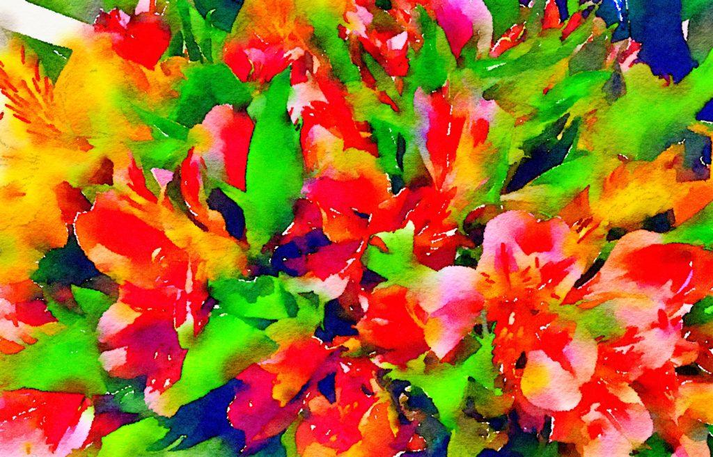 Week Twenty-Two: Floral Color Block 5