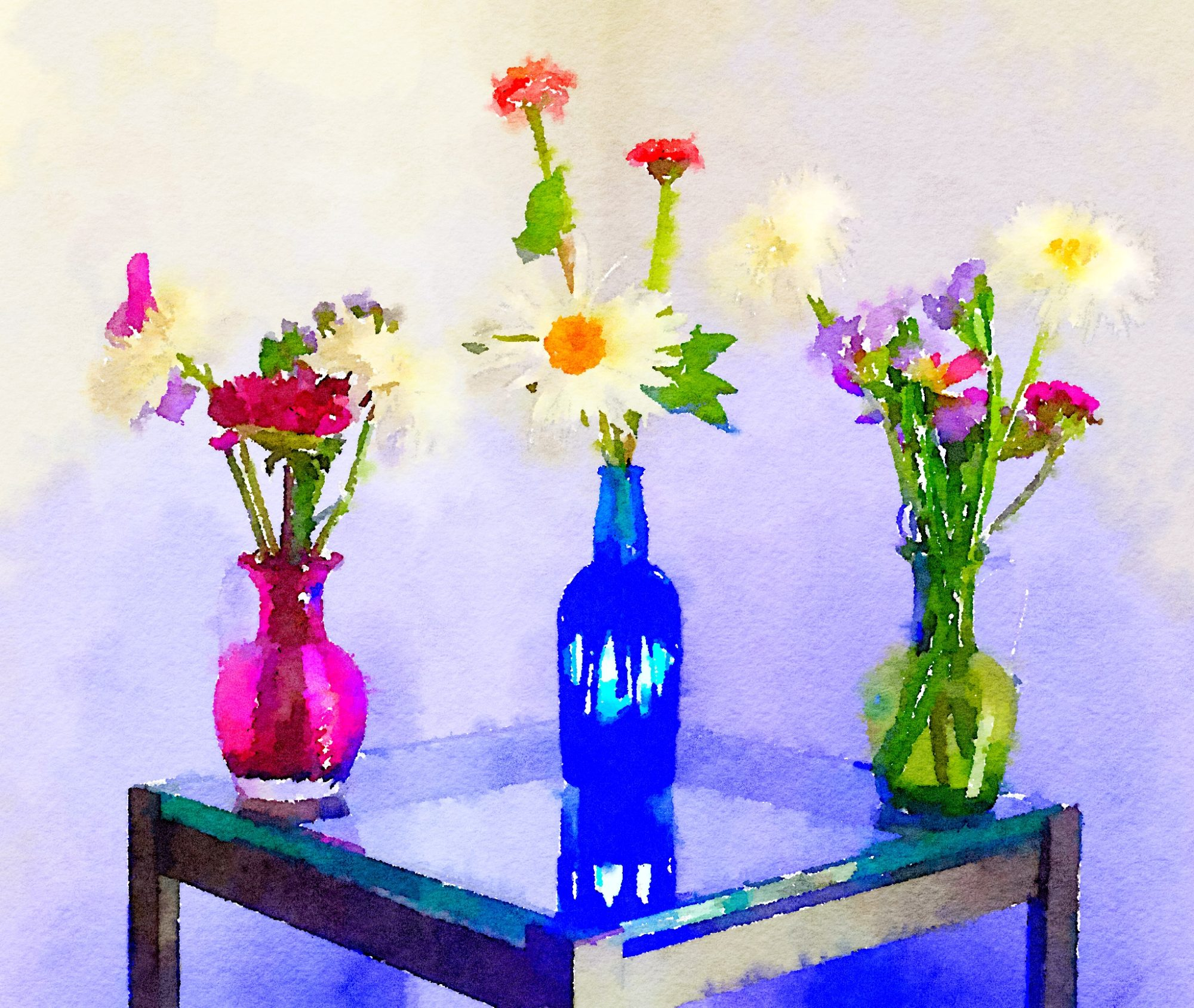 Week Twenty Four: Three Small Bouquets