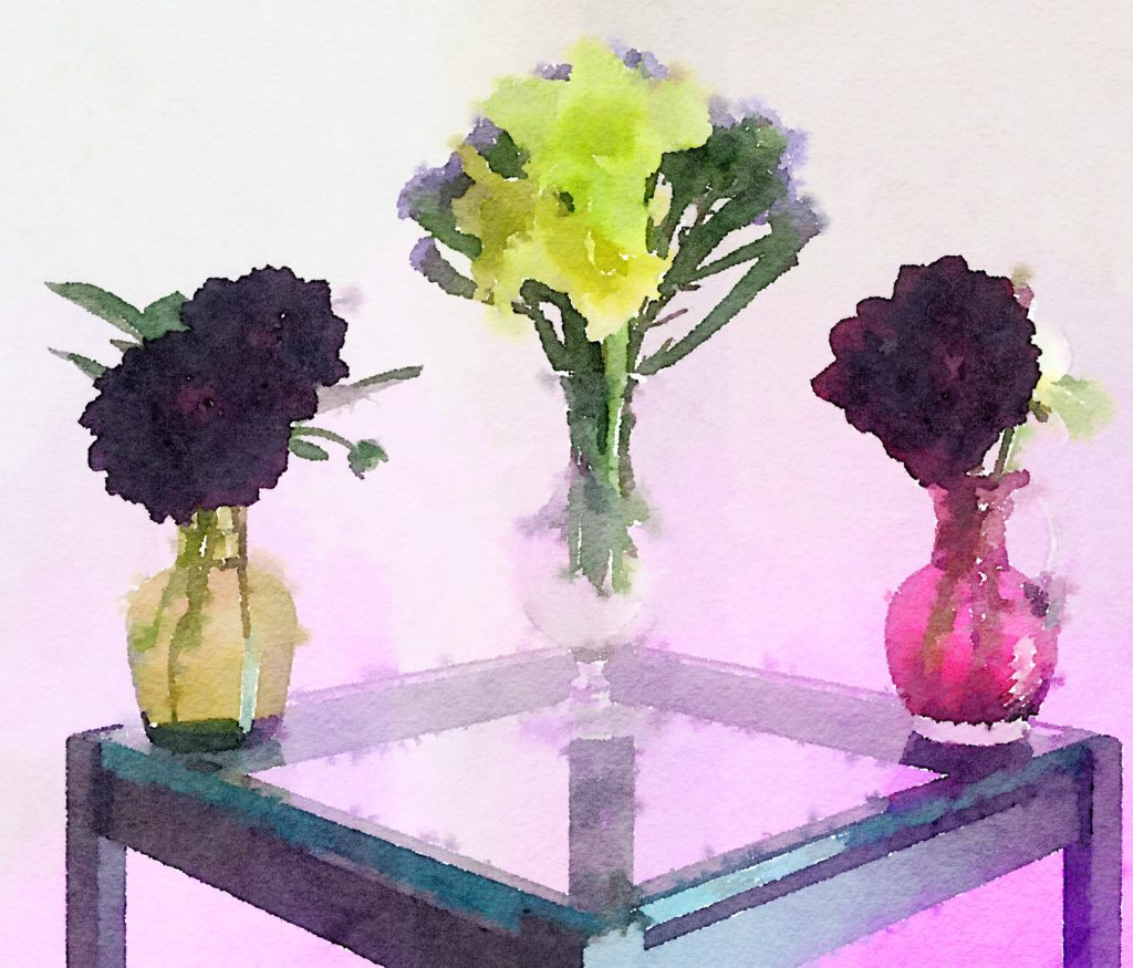 Week Twenty-Six: Three Small Bouquets in Dreamy Light