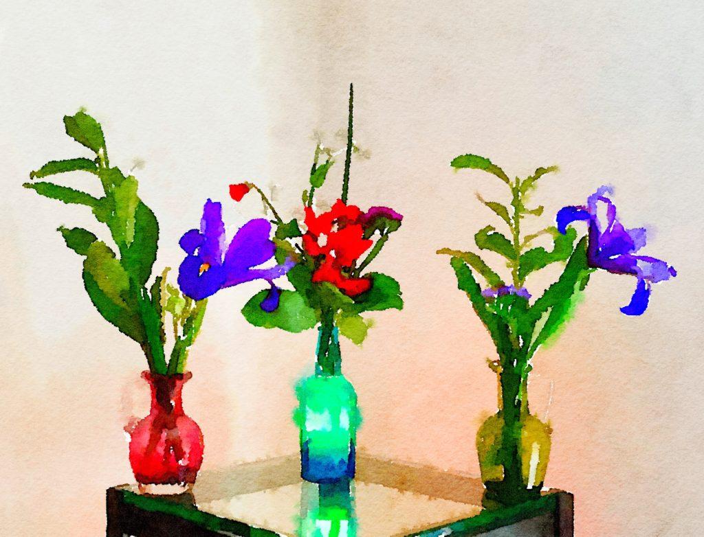 Week Twenty-Three: Three Small Bouquets
