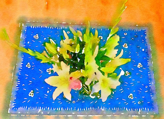 Braiden Blossoms Week Thirty: Fresh Pike Place Market Flowers Painted in Waterlogue
