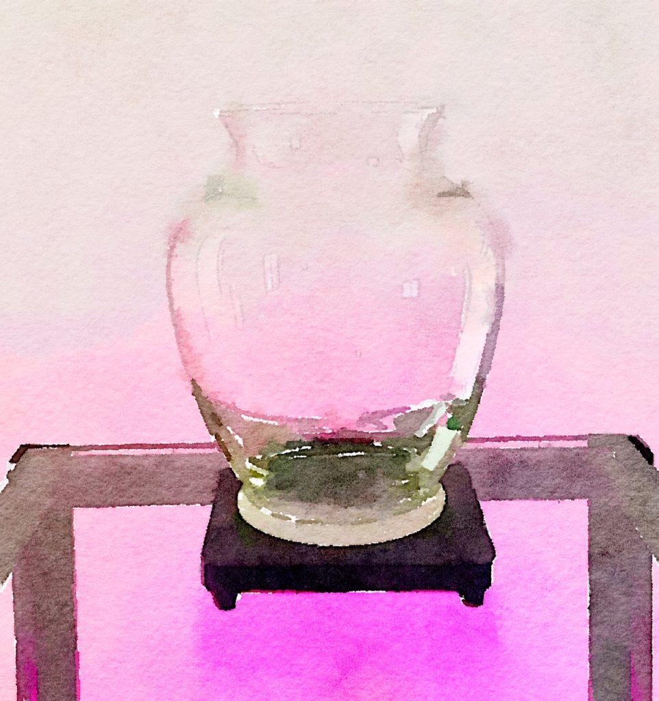 Bouquet-a-Week Project Week Twenty-Six: Classic Clear-Glass Vase