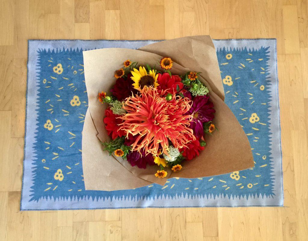 Braiden Blossoms Website Week Thirty-Four: Fresh Pike Place Market Flowers