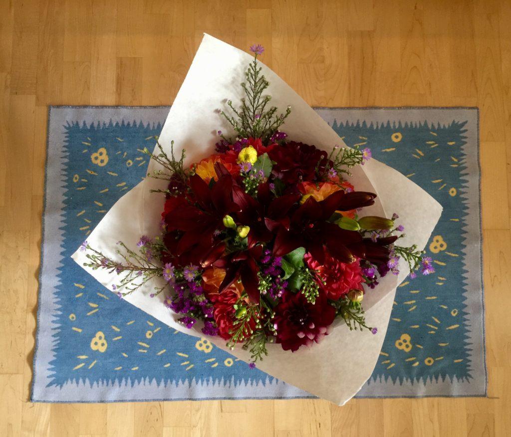Braiden Blossoms Website Week Thirty-Seven: Fresh Pike Place Market Flowers