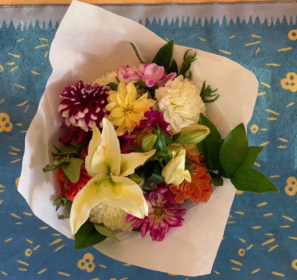 Braiden Blossoms Website Week Forty-Seven: Fresh Pike Place Market Flowers