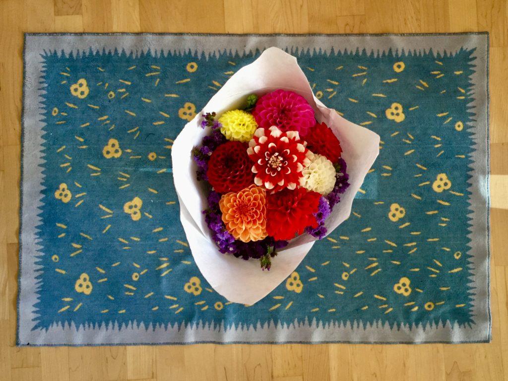 Braiden Blossoms Website Week Thirty-Eight: Fresh Pike Place Market Flowers