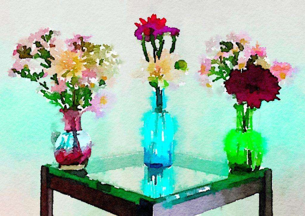 Braiden Blossoms Website Week Thirty-Eight: Three Small Vases